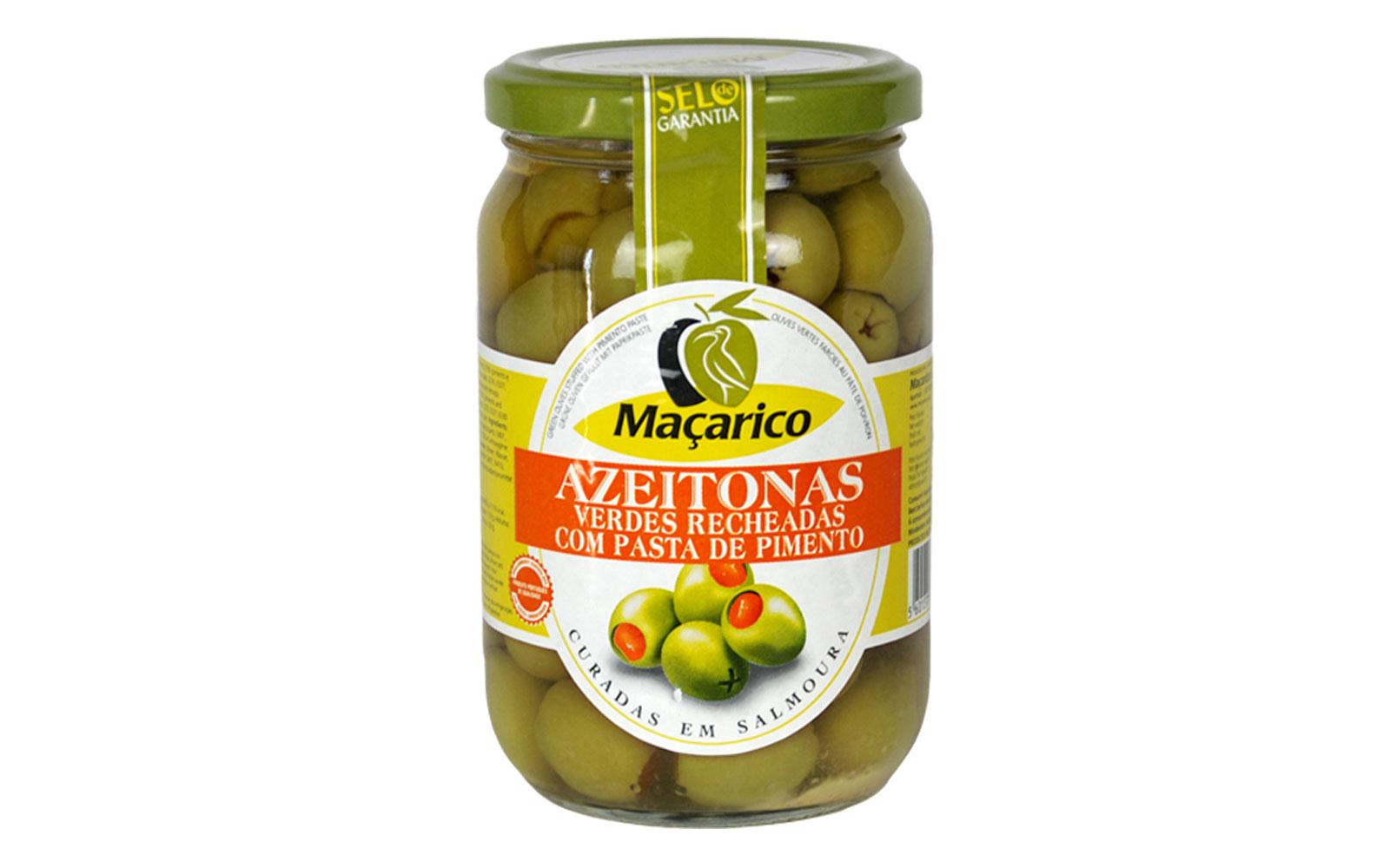 macarico verdes recheadas pasta pimento 200