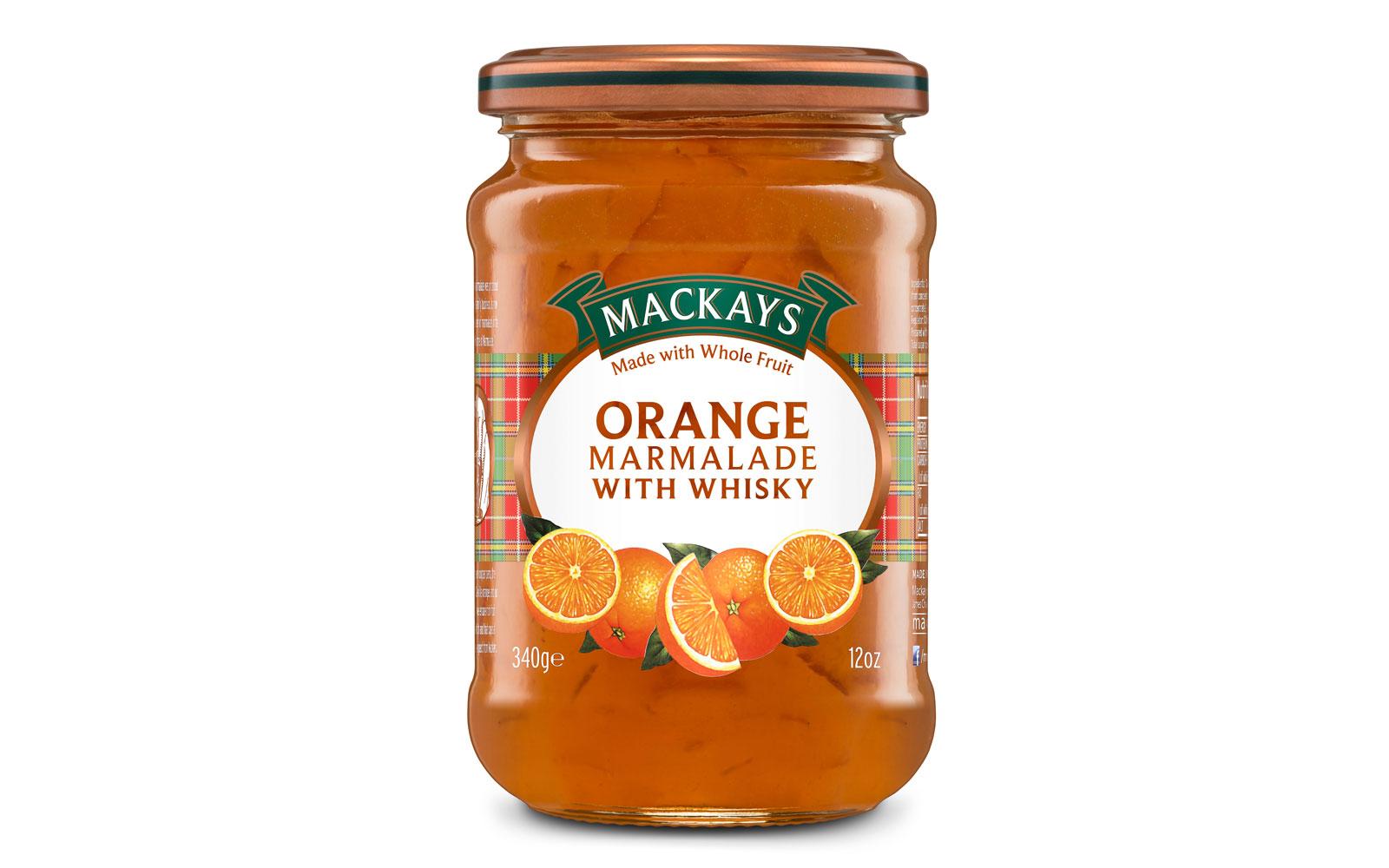 mackays orange marmalade with whisky