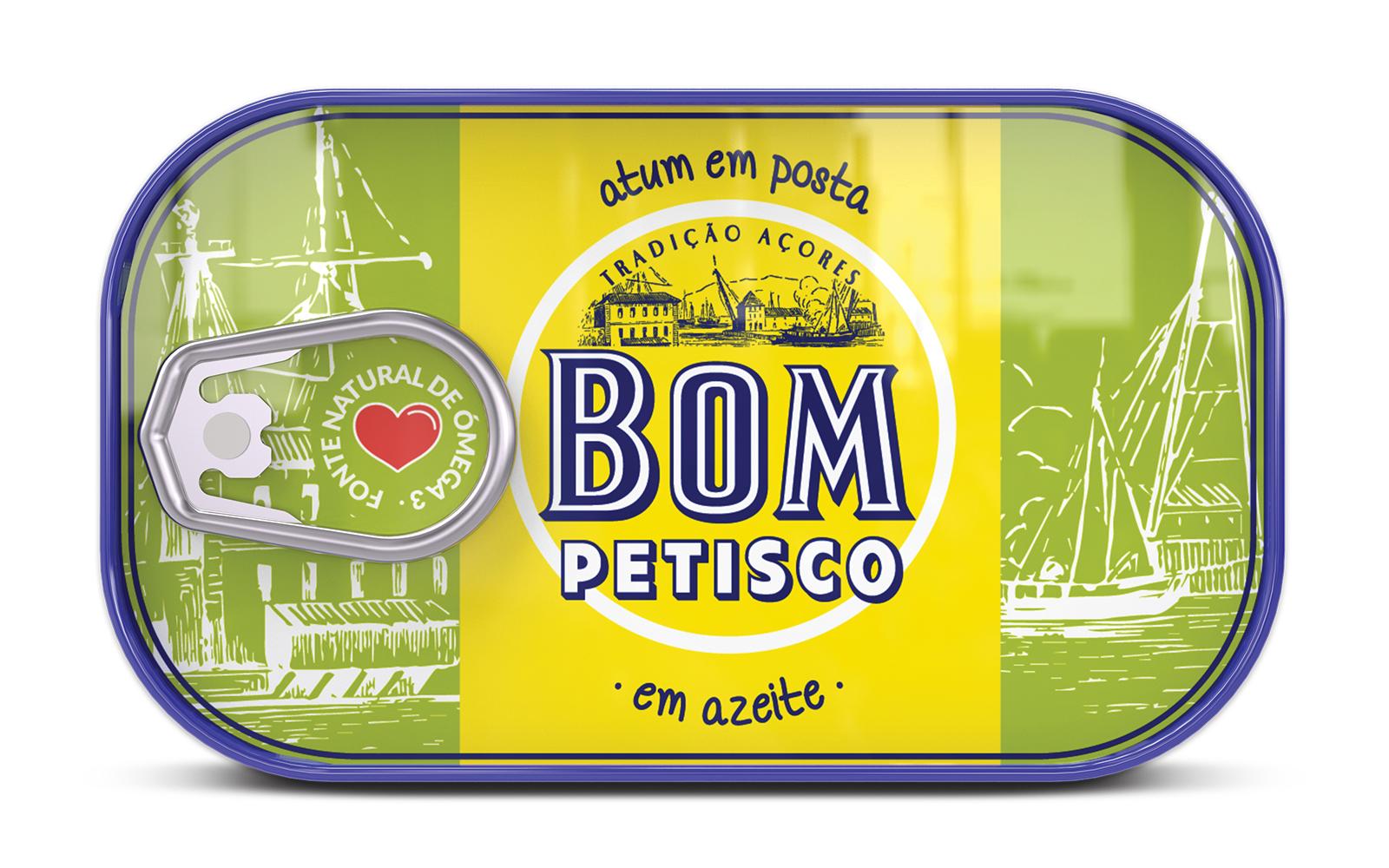 Photo du packaging Bom Petisco - Thon en huile d'olives