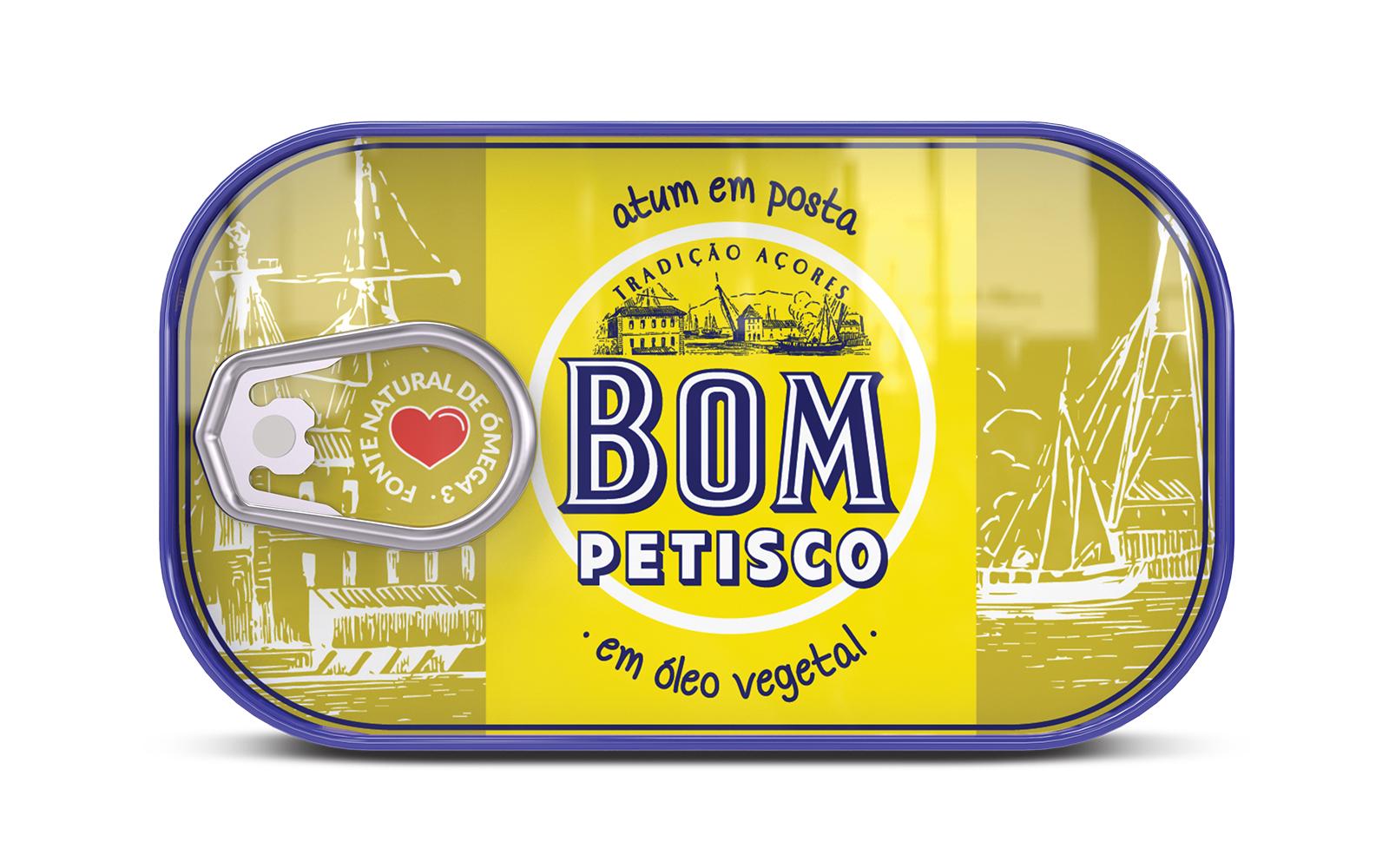 Photo du packaging Bom Petisco - Thon en huile végétale
